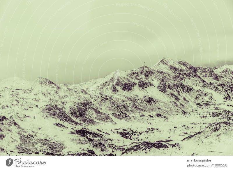 obertauern hundskogel plattenspitz Ferien & Urlaub & Reisen Landschaft Ferne Winter Berge u. Gebirge Schnee Sport Schneefall Eis Freizeit & Hobby Tourismus