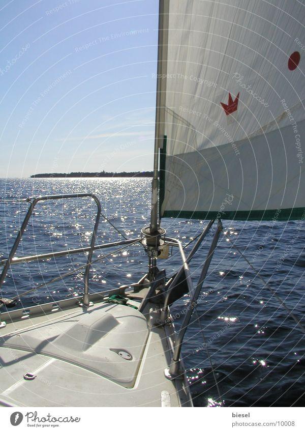 Segelboot Europa Segel Segelboot Mittelmeer Südfrankreich Cannes