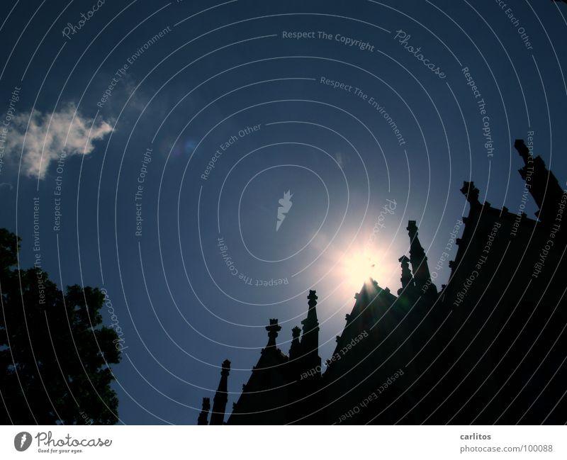 Erleuchtung Zinnen aufgehen Beleuchtung Licht Gegenlicht blenden Märchen Erzählung unheimlich gruselig Angst Göttingen Erkenntnis Religion & Glaube