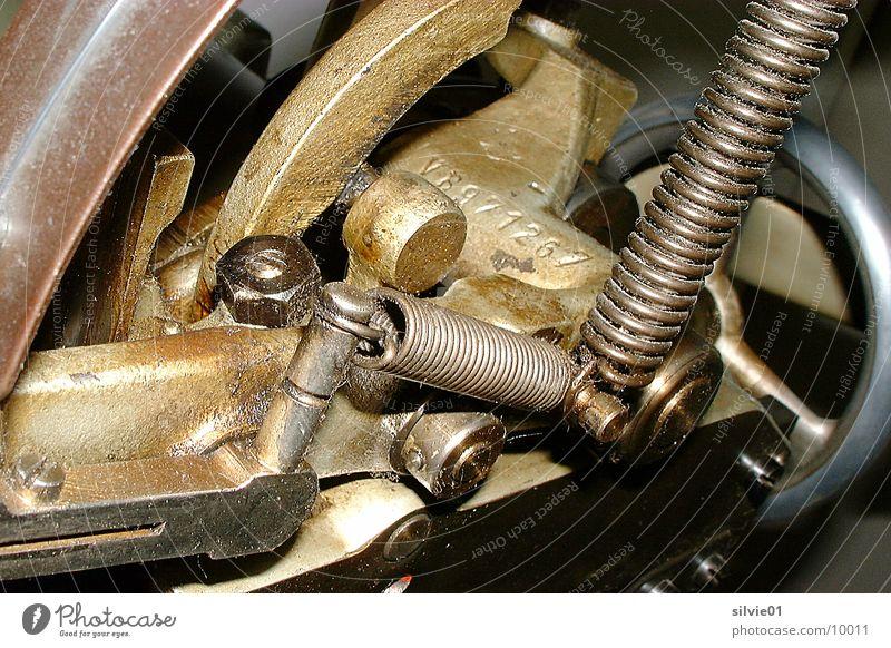 alte Druckmaschine Metallfeder Elektrisches Gerät Technik & Technologie