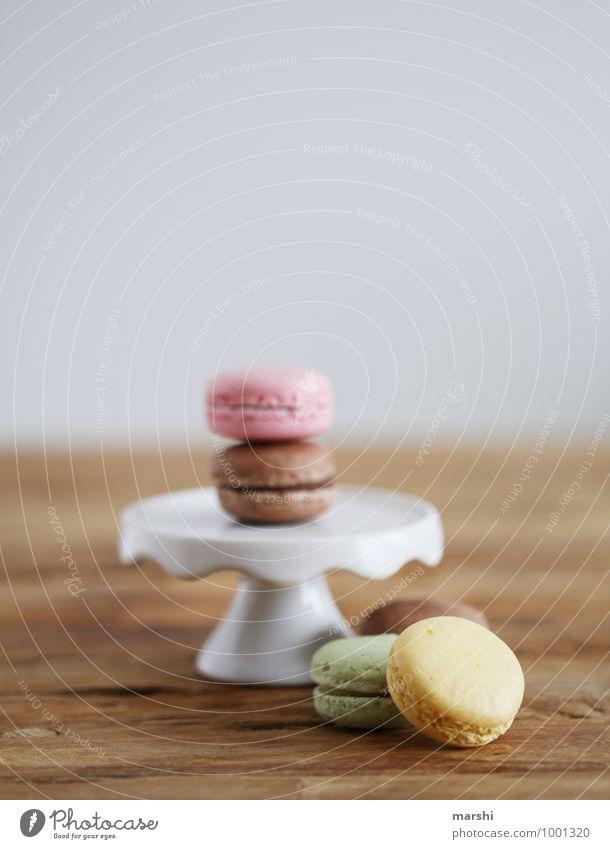 Macarons Lebensmittel Dessert Süßwaren Ernährung Essen Stimmung süß Foodfotografie Kalorienreich Snack Farbfoto Innenaufnahme Studioaufnahme Nahaufnahme
