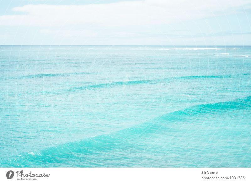 295 [traumhafte see] Himmel Ferien & Urlaub & Reisen blau Wasser Sommer Meer Landschaft ruhig Ferne Umwelt Freiheit Schwimmen & Baden Horizont Lifestyle