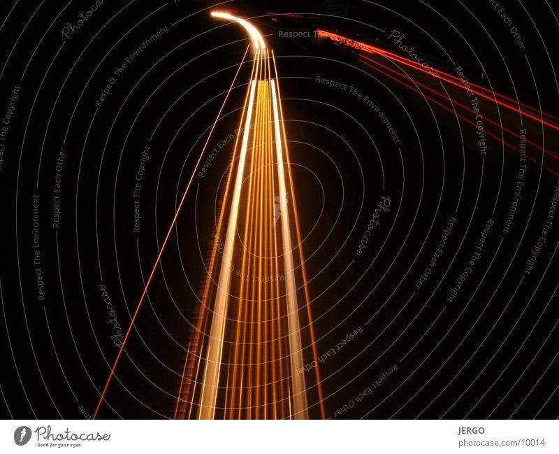 stripes3 Nacht Autobahn Licht Club