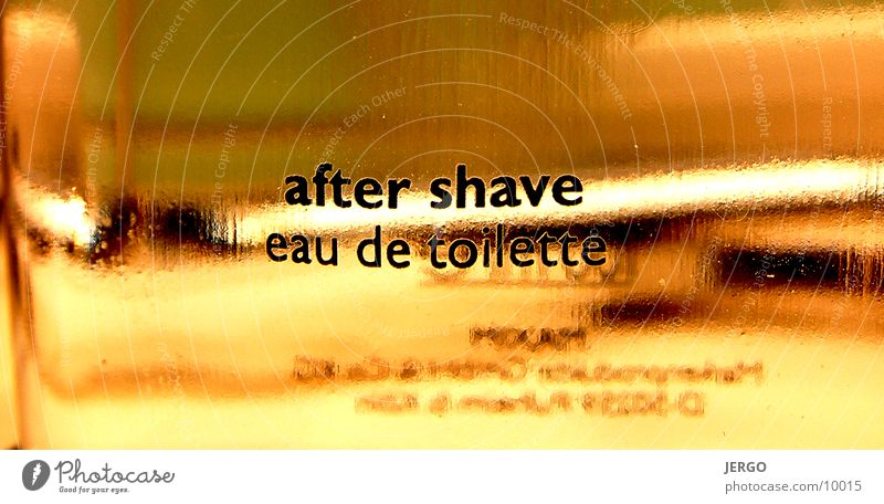 After Shave Makroaufnahme Dinge Aftershave Fototechnik Glas