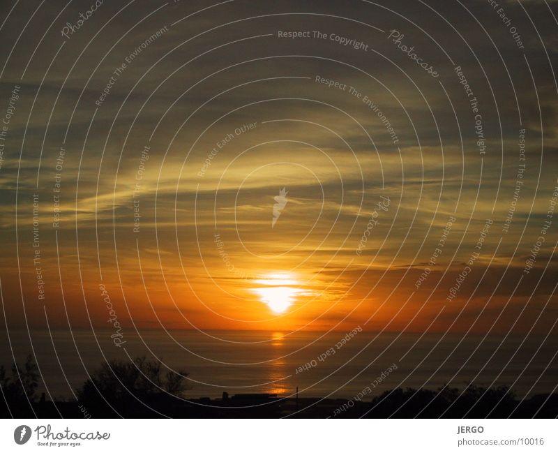 La Palma Sonnenuntergang Meer