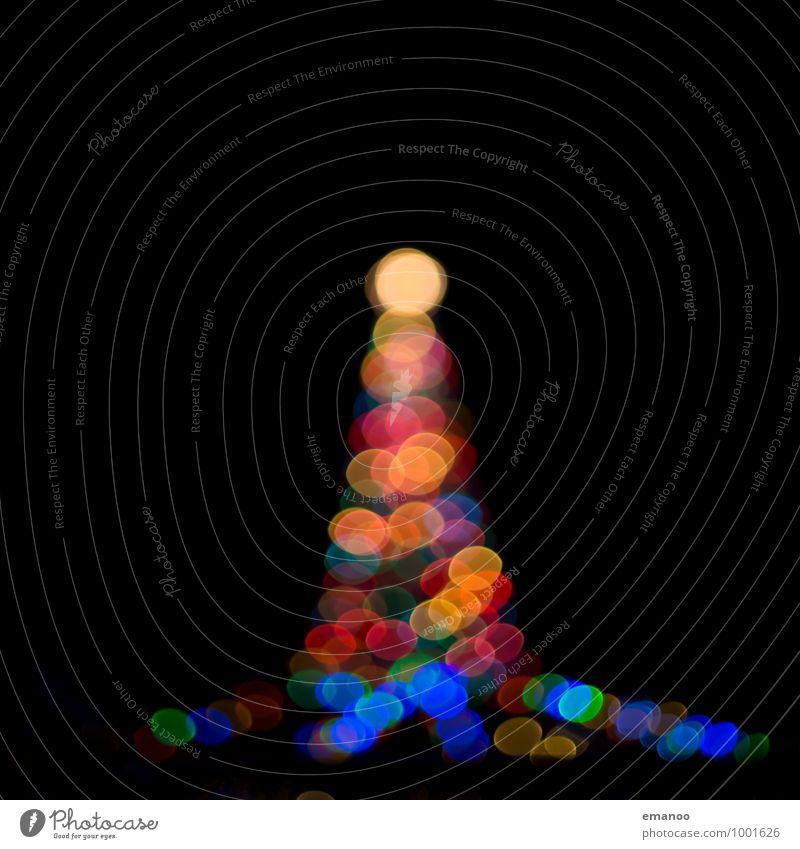 bokeh tower Veranstaltung Feste & Feiern Weihnachten & Advent Technik & Technologie Kunst Kunstwerk Architektur Turm Leuchtturm Zeichen Kugel leuchten dunkel