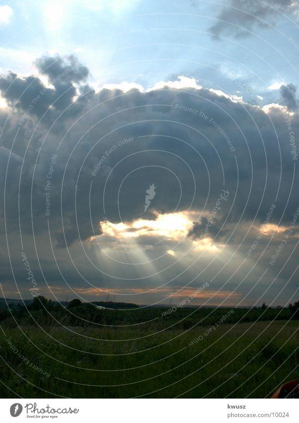 Wolkenloch Natur Himmel
