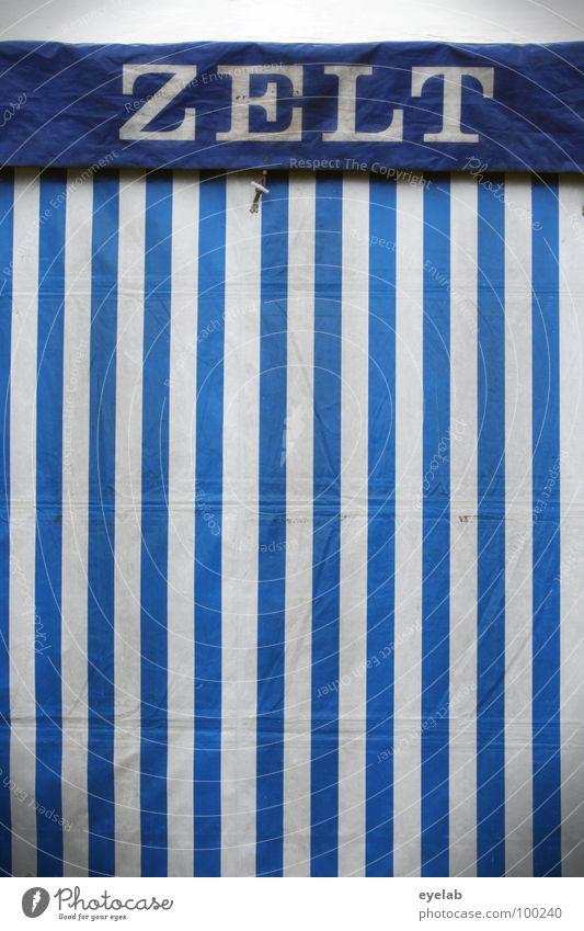 300 blau weiß Sommer Freude Garten Feste & Feiern Schriftzeichen Streifen Buchstaben Gastronomie Jahrmarkt Gesellschaft (Soziologie) gestreift Dom Zelt Feiertag
