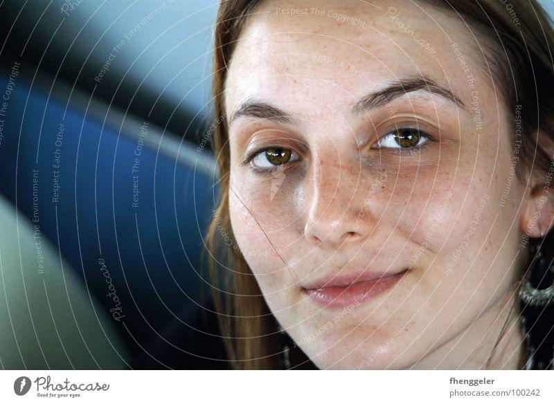 Portrait in Venedig Frau Natur schön Gesicht ruhig Auge Mund frisch Konzentration harmonisch Prima Italien