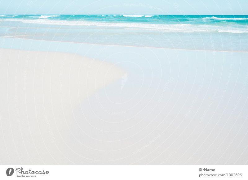 328 Schwimmen & Baden Ferien & Urlaub & Reisen Tourismus Ferne Freiheit Sommer Sommerurlaub Strand Meer Wellen Natur Landschaft Urelemente Sand Wasser