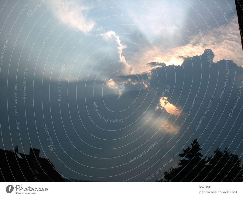 Himmelsloch Natur Sonne Wolken