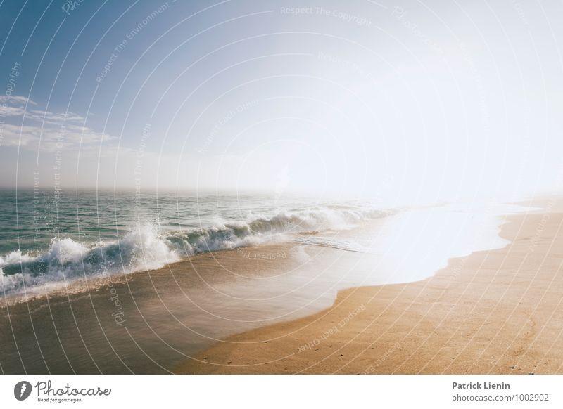 Matunuck Beach Himmel Natur Ferien & Urlaub & Reisen Sommer Wasser Sonne Meer Landschaft Ferne Strand Umwelt Freiheit Lifestyle Sand Zufriedenheit Wetter