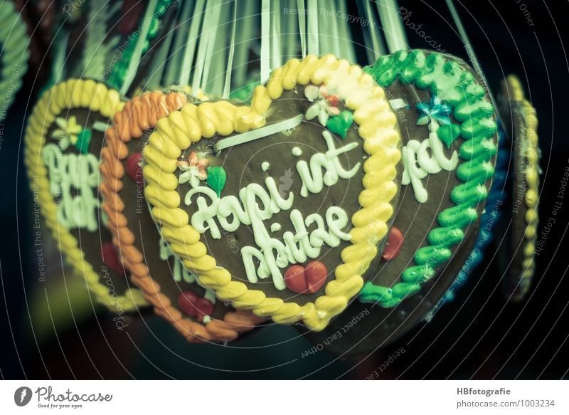 Liebesherzen Lebensmittel Süßwaren Schokolade Freude Glück ausgehen Feste & Feiern Oktoberfest Jahrmarkt Souvenir süß Leidenschaft Verliebtheit Romantik