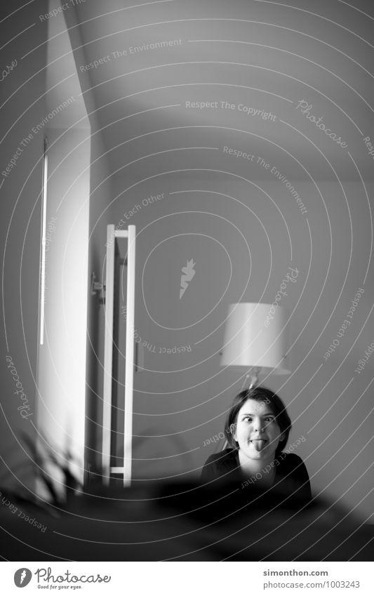 Grimasse Mensch Freude Leben Innenarchitektur feminin Liebe Glück Lampe Freundschaft Zusammensein Wohnung Perspektive Energie Kommunizieren Kreativität