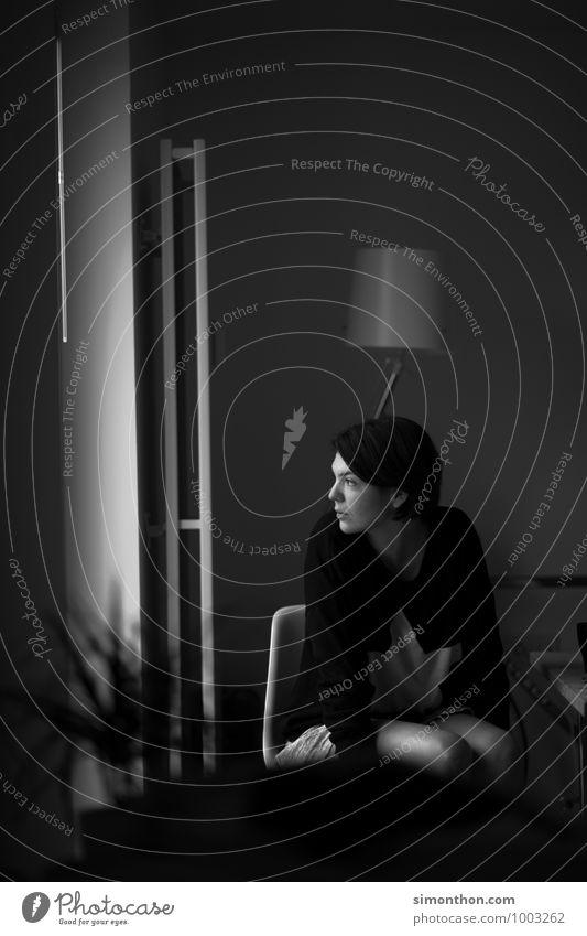 Depri Erholung Einsamkeit ruhig Gefühle feminin Stimmung Wohnung Freizeit & Hobby Angst bedrohlich planen Hilfsbereitschaft Schutz Hoffnung geheimnisvoll Glaube