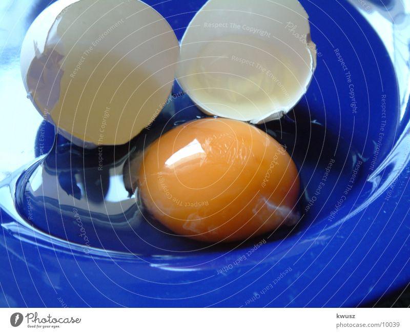 DAS EI blau Ernährung gelb Ei Schalen & Schüsseln Eigelb