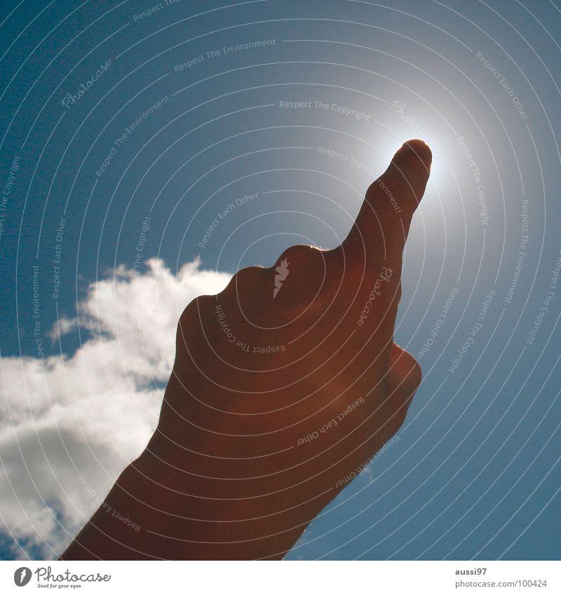 Liquid screen Himmel Denken Beginn Finger Technik & Technologie Gott Knöpfe drücken Präsentation Hinweis ausschalten aktivieren Elektrisches Gerät Türöffner aha