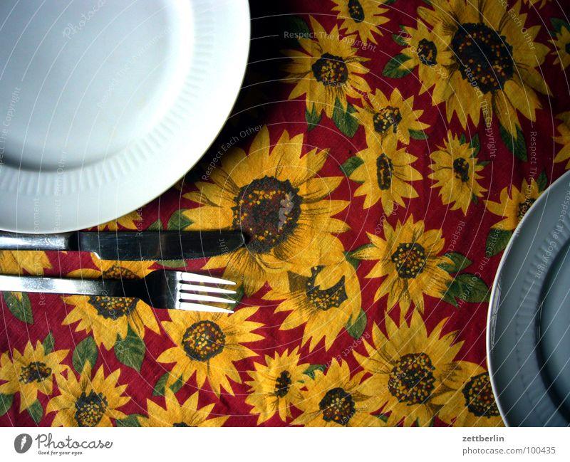 Essbesteck {n} = cutlery Ernährung Tisch Küche Teller 8 Messer Besteck Gabel