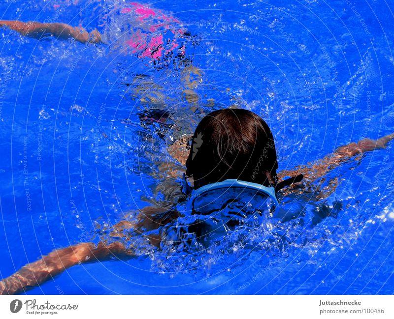 The Diver tauchen Taucher Schwimmbad Sommer Sport Spielen blau Juttaschnecke Freude Poolspaß