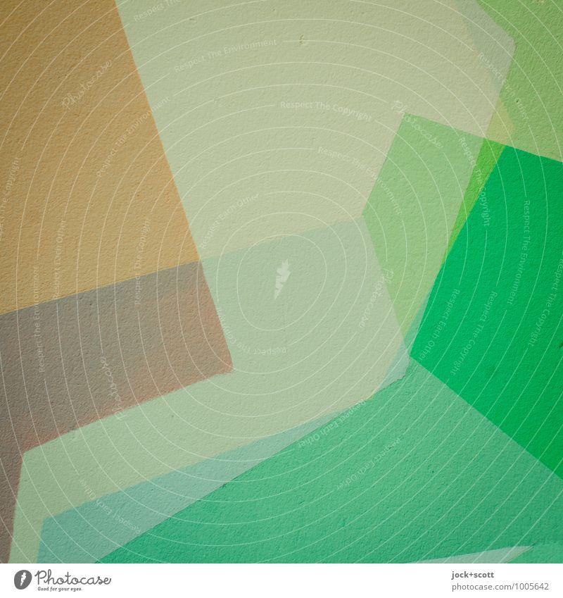 erweiterte Kurzfassung schön grün Farbe Stil Hintergrundbild Design frisch Ordnung ästhetisch Beton Kreativität einzigartig Wandel & Veränderung rein fest