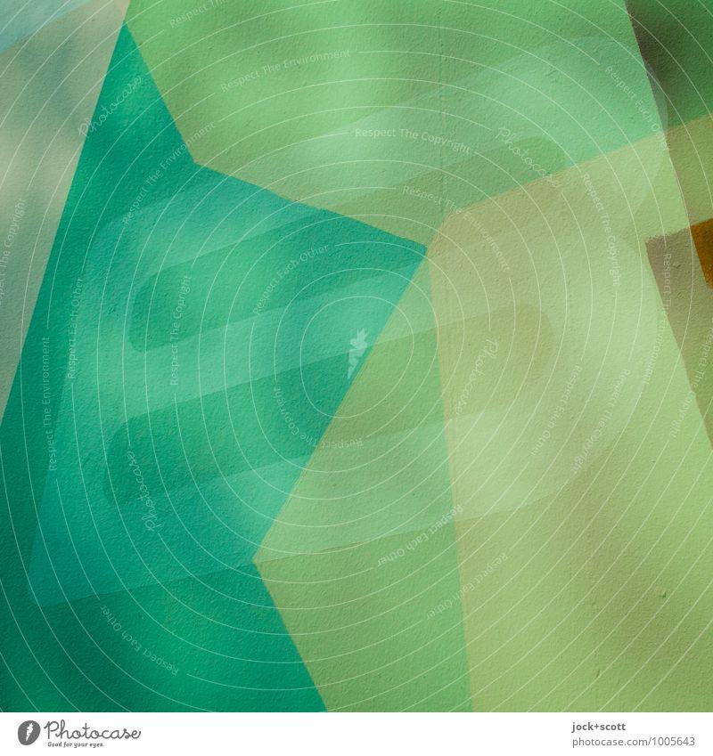 B-Teil schön grün Stil Design Ordnung Schriftzeichen ästhetisch Beton Kreativität einzigartig Hoffnung fest trendy türkis Typographie eckig