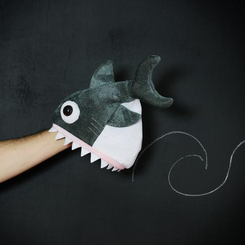 shark attack Tier Wildtier 1 Aggression Gefühle Stimmung Haifisch Angriff Kreide Schilder & Markierungen lustig Idee Arme beißen Biss haiangriff bedrohlich