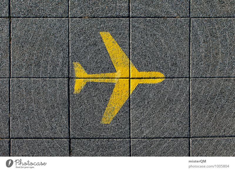 Fly me a River. Kunst ästhetisch Design Flugzeug Flughafen Fernweh Ferne Reisefotografie Ferien & Urlaub & Reisen Urlaubsfoto Urlaubsort Urlaubsstimmung