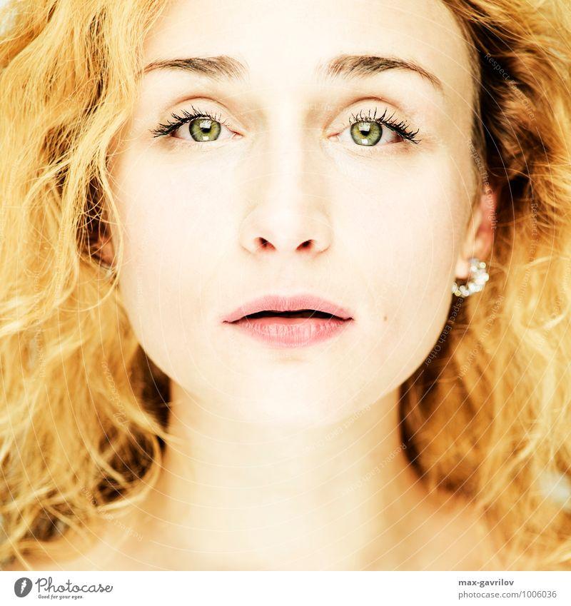Mensch Frau Kind Jugendliche schön Junge Frau Mädchen 18-30 Jahre Gesicht Erwachsene Auge Leben Liebe Gefühle feminin Kunst