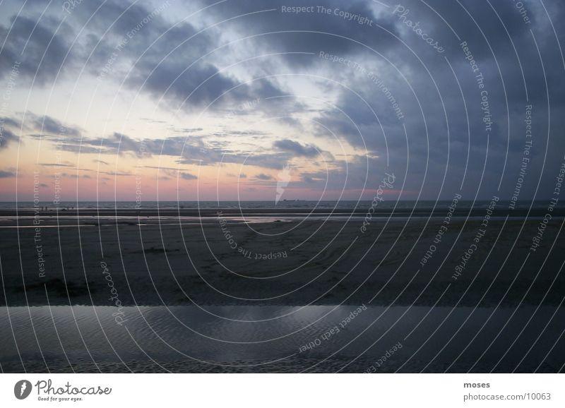 Strand Wasser Nordsee