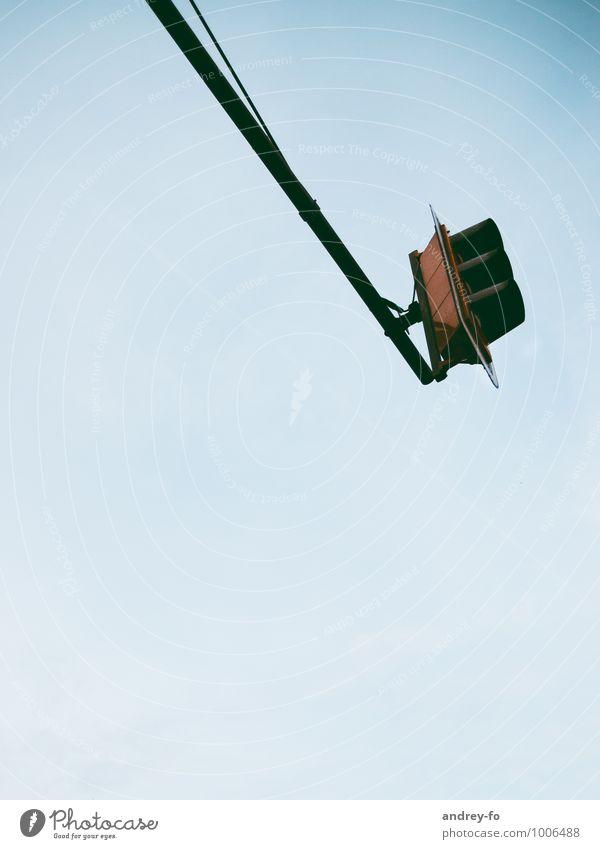 Ampel Technik & Technologie Verkehr Straßenverkehr oben Verkehrsschild Führerschein Autobahn Verkehrszeichen Farbfoto Außenaufnahme Textfreiraum unten