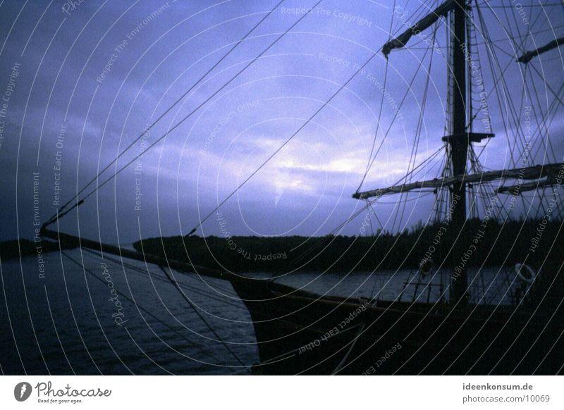 Piratenschiff Kuba Wasserfahrzeug Sonnenuntergang Varadero Abend