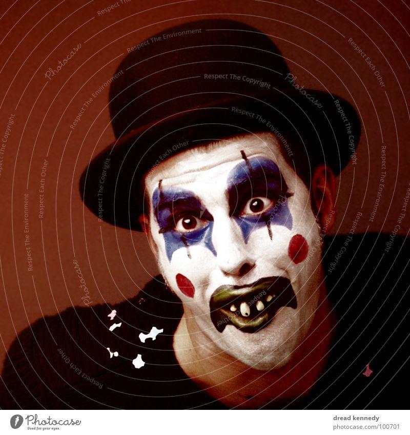 Witz Komm Raus Mensch lustig Design Kindheit Fröhlichkeit verrückt Kommunizieren Kreativität Lebensfreude Kultur planen Kitsch Leidenschaft Maske Karneval Hut