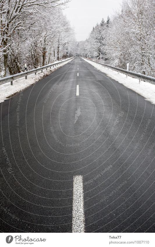 Winterstraße Natur Landschaft Umwelt Straße Schnee Schneefall Eis Verkehr Abenteuer Frost Verkehrswege