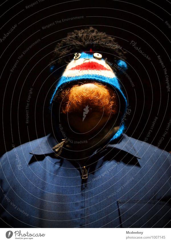 Second Life Mensch Jugendliche blau weiß rot Junger Mann 18-30 Jahre schwarz Erwachsene Gesicht Leben grau außergewöhnlich maskulin orange stehen