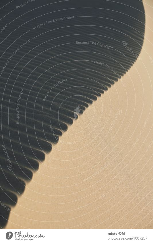 Dünenwirbel I Kunst ästhetisch Zufriedenheit Stranddüne Wüste Sandstrand Strukturen & Formen Wind Idylle Symmetrie Farbfoto Gedeckte Farben Außenaufnahme