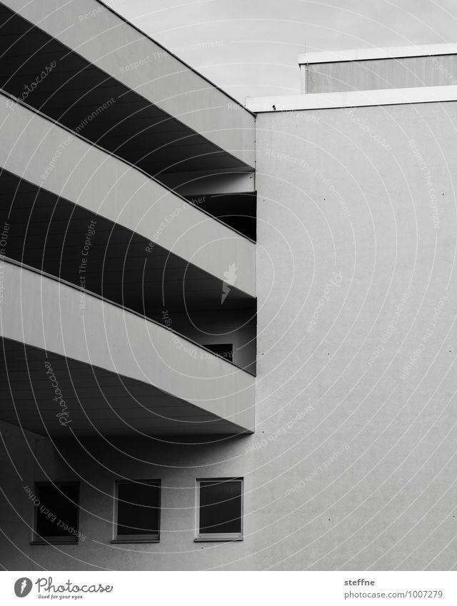 Around the World in Germany: Kassel Stadt Architektur Verkehr Autofahren Parkhaus Moderne Architektur