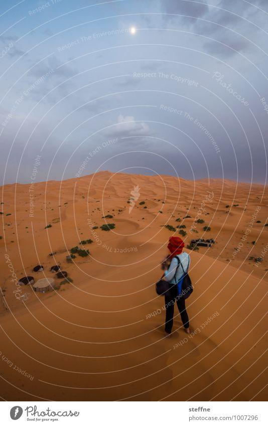 Wüste (6/10) Sand Düne Wärme Ferien & Urlaub & Reisen Tourismus Naher und Mittlerer Osten Arabien Sahara 100 und eine Nacht Marokko Algerien Tunesien Abenteuer