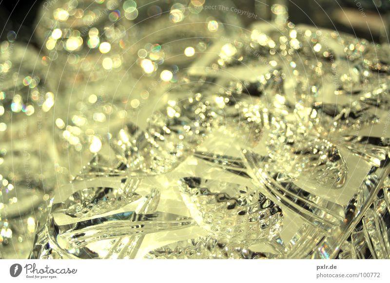 Glanzding schön gelb glänzend Glas Design elegant gold Dekoration & Verzierung zart Zeichen Reichtum Russland Sammlung Schalen & Schüsseln Kristalle