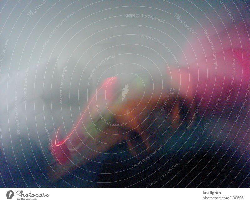Beistelltisch mal anders Bewegung Geschwindigkeit mehrfarbig Farbe Reaktionen u. Effekte Fotokunst