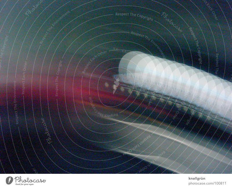 Tisch mit Windlicht Licht Teelicht weiß mehrfarbig Farbe Bewegung Fotokunst