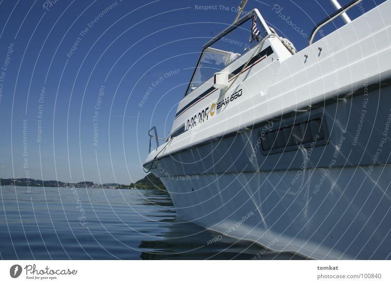 white pearl Erholung Ferien & Urlaub & Reisen Sommer Wasser See Motorboot Wasserfahrzeug Schwimmen & Baden Verkehr Gewässer Farbfoto Außenaufnahme Tag Licht