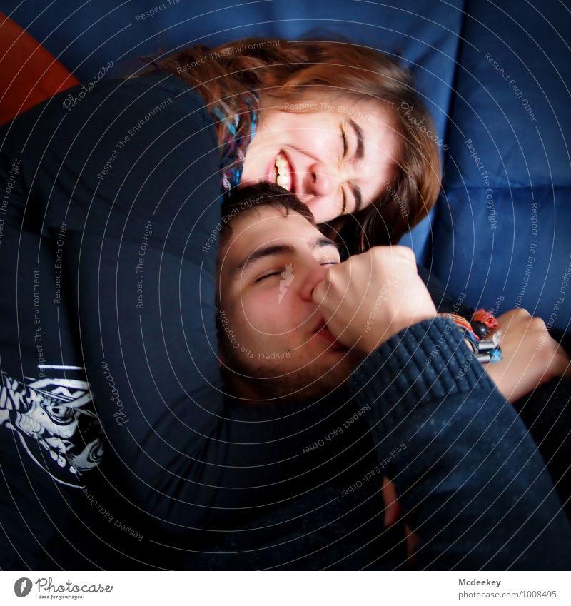 Happy morning Mensch maskulin feminin Junge Frau Jugendliche Junger Mann Paar Partner Körper Kopf Haare & Frisuren Gesicht Auge Nase Zähne Arme Hand 2