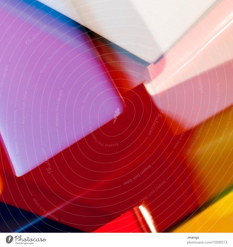 Plastic World Farbe Stil Hintergrundbild außergewöhnlich Lifestyle elegant Design verrückt Kreativität einzigartig Coolness Kunststoff trendy Irritation