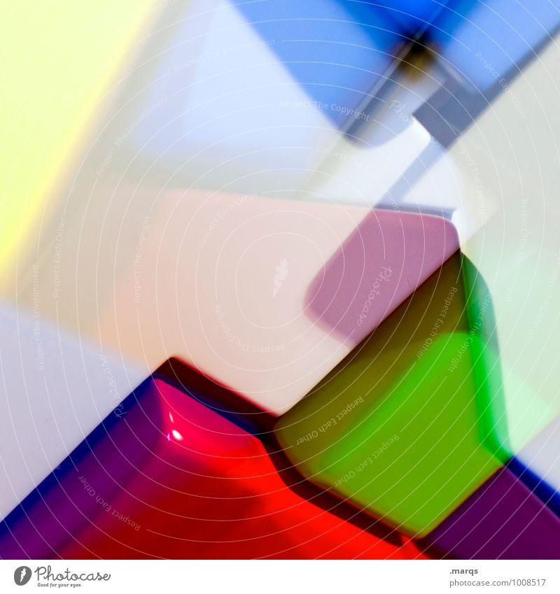 Plastic World Farbe Stil Hintergrundbild außergewöhnlich Lifestyle Design elegant verrückt Kreativität einzigartig Coolness Grafik u. Illustration Kunststoff