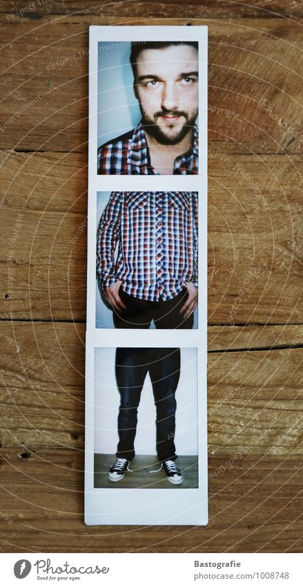 Dreiteiler Lifestyle Stil Veranstaltung Mensch maskulin Körper 18-30 Jahre Jugendliche Erwachsene 30-45 Jahre Kunst Mode Hemd schwarzhaarig Bart Vollbart stehen
