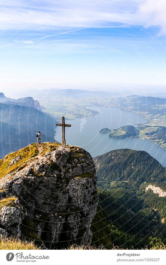 Das ist doch der Gipfel Natur Ferien & Urlaub & Reisen Pflanze Landschaft Ferne Umwelt Berge u. Gebirge Herbst Gefühle Religion & Glaube Freiheit See Felsen