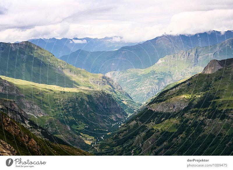 Gemischte Aussicht Natur Ferien & Urlaub & Reisen Pflanze Sommer Landschaft Wolken Freude Ferne Umwelt Berge u. Gebirge Gefühle Glück Freiheit Stimmung Felsen