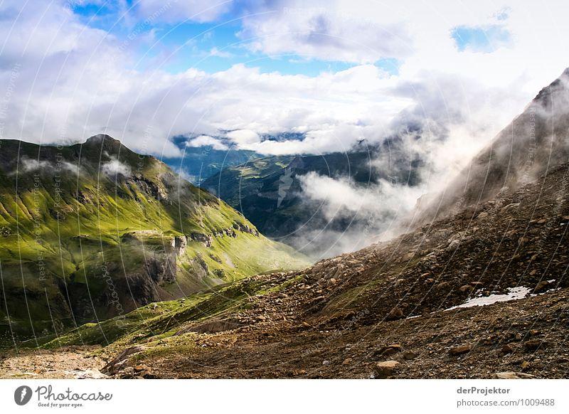 Links ist schöner Natur Ferien & Urlaub & Reisen Pflanze Sommer Landschaft Wolken Ferne Umwelt Berge u. Gebirge Gefühle Freiheit Felsen Freizeit & Hobby