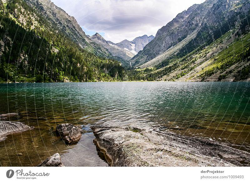 Lac de Gaube Natur Ferien & Urlaub & Reisen Pflanze Landschaft Ferne Umwelt Berge u. Gebirge Gefühle Freiheit außergewöhnlich See Felsen Freizeit & Hobby