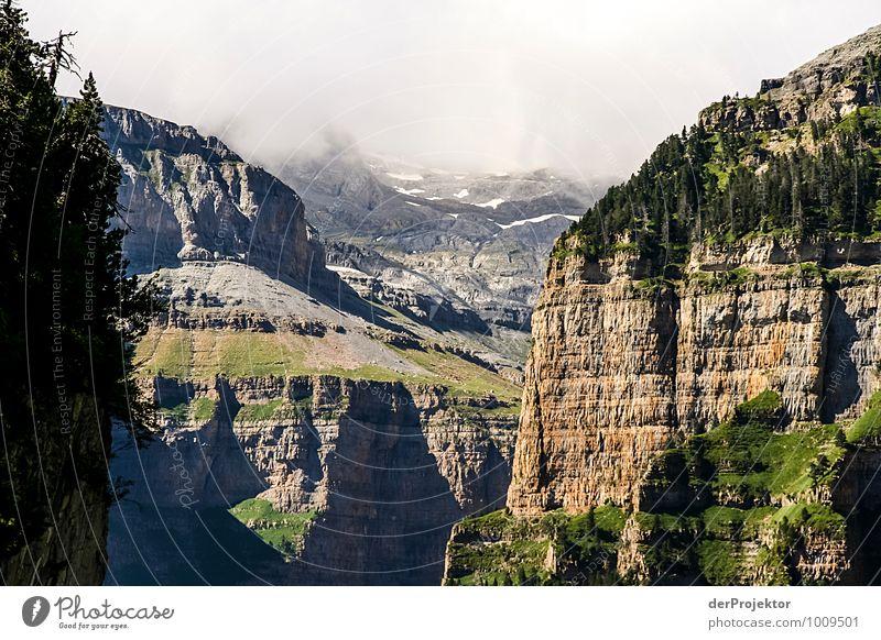 Ausgewaschen Natur Ferien & Urlaub & Reisen Pflanze Sommer Landschaft Ferne Umwelt Berge u. Gebirge Gefühle Freiheit Felsen Nebel Tourismus wandern Ausflug